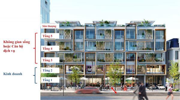 Shophouse Q2 Thảo Điền, Quận 2, 1 Trệt + 4 Lầu + Sân Thượng, Diện Tích 138M2 - 551215