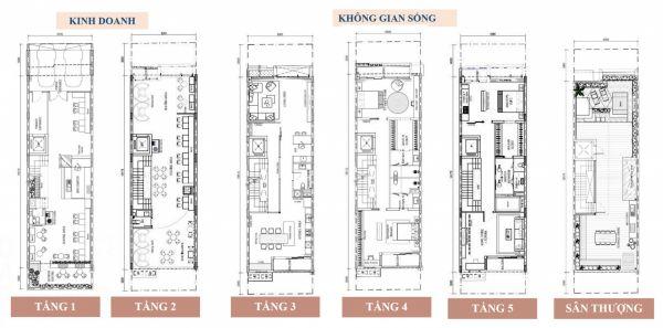 Shophouse Q2 Thảo Điền, Quận 2, 1 Trệt + 4 Lầu + Sân Thượng, Diện Tích 138M2 - 551218