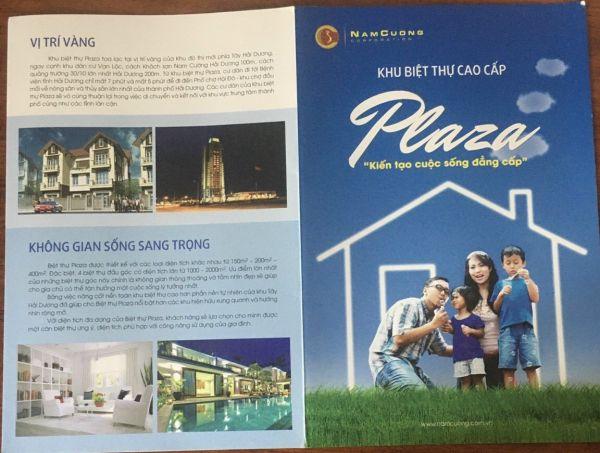 Bán Biệt Thự Plaza, Tứ Minh, Tp Hd, 205.5M2, Lô Góc Đường 39M, Giá Tốt, Cực Đẹp - 553174