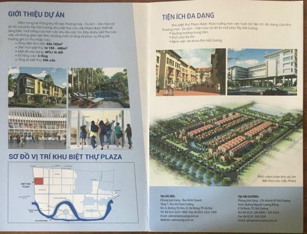 Bán Biệt Thự Plaza, Tứ Minh, Tp Hd, 205.5M2, Lô Góc Đường 39M, Giá Tốt, Cực Đẹp - 553183
