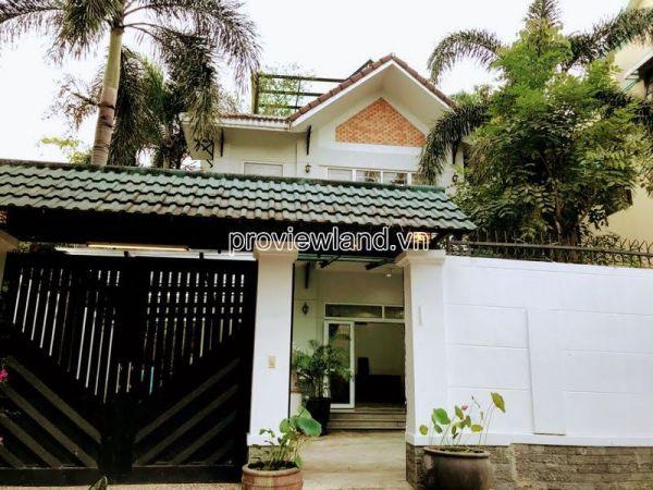 Bán Biệt Thự Fideco Thảo Điền Q2, 365 M2, 3 Tầng, 5Pn, Full Nội Thất - 555973