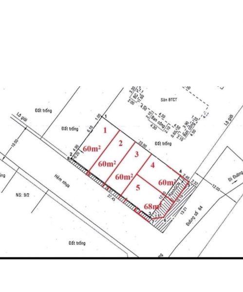 Bán Lô Đất Góc 2 Mặt Tiền Đường Số 64, Thảo Điền, 365M2, Sổ Hồng - 557035