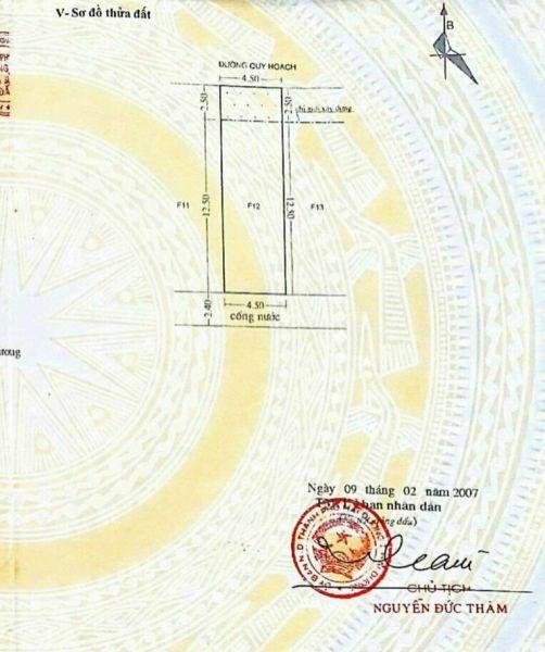 Bán Đất Phố Đặng Dung, Tp Hải Dương 67.5M2, Mt 4.5M, Hướng Bắc, Giá  2 Tỷ 430 Triệu - 557107