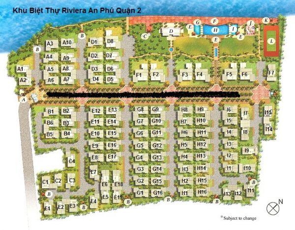 Bán Biệt Thự Villa Riviera An Phú, Quận 2, 304M2, 3 Tầng, Giá 58 Tỷ - 557167
