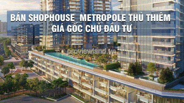 Bán Một Số Shophouse Metropole Thủ Thiêm Giá Mới Cập Nhật - 562600