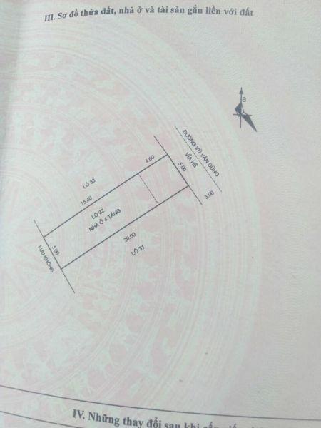 Bán Nhà 4 Tầng Mặt Phố Vũ Văn Dũng, Tp Hd, 100M2, Mt 5M, 4 Ngủ, Sân Cổng, 4 Tỷ 799 Tr - 565378