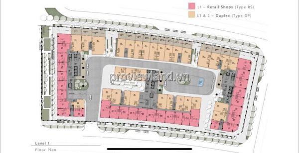 Bán Một Số Shophouse Metropole Thủ Thiêm, Thiết Kế 1 Trệt + 1 Lầu Và 1 Trệt + 3 Lầu - 565525
