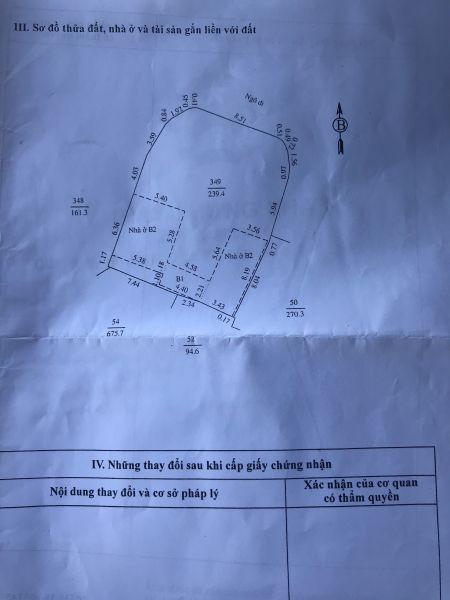 Bán Nhà Và Đất Đường Nguyễn Thị Duệ, Tp Hd, 239.4M2, Lô Góc, Chia Lô Ra Bán Cực Ok - 565573