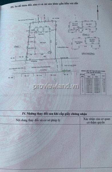 Bán Nhà Quận 1, Đường Nguyễn Phi Khanh, 424,8M2, Gpxd 2 Hầm +8 Tầng, Sổ Hồng - 565795