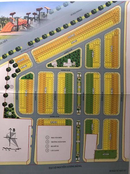Bán Đất Kdc Nguyễn Lương Bằng, Tp Hd, 66.86M2, Mt 4.5M, Đường 17.5M, Giá Tốt - 569497
