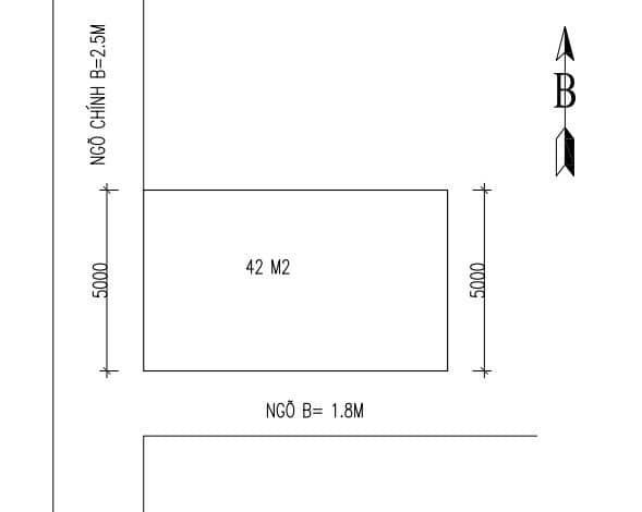 Bán Đất Ngõ 440 Điện Biên Phủ, Tp Hd, Lô Góc 42M2, Mt 5M, Hướng Tây Tứ Mệnh, 890 Triệu - 570352