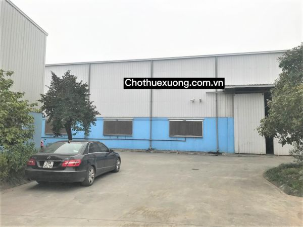 Cho Thuê Nhà Xưởng 2500M2 Trong Kcn Đồng Văn 2 Hà Nam - 570763