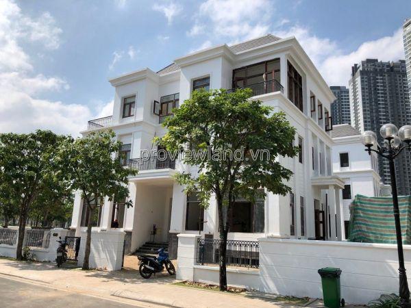 Bán Biệt Thự Vinhomes Central Park, Bình Thạnh, 300M2, 1 Hầm + 3 Lầu, Nhà Thô - 571240
