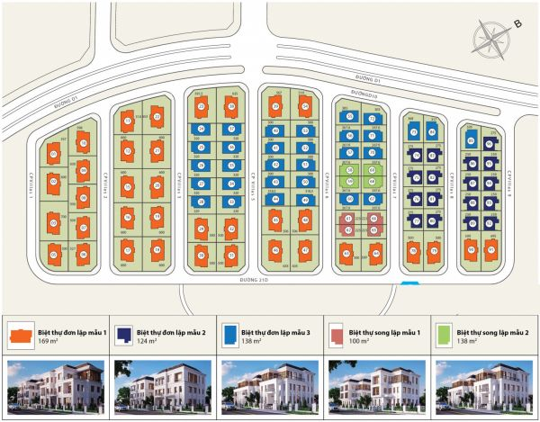 Bán Biệt Thự Vinhomes Central Park, Bình Thạnh, 300M2, 1 Hầm + 3 Lầu, Nhà Thô - 571243