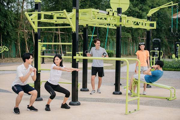 Hệ thống tiện ích thể thao của Vinhomes Smart City thu hút cộng đồng người nước ngoài, đặc biệt là những chuyên gia đang sinh sống tại Hà Nội