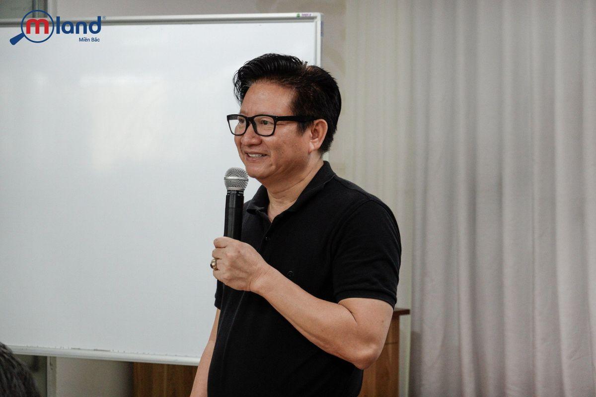 Master trainer Bùi Trọng Giao đào tạo tại MLAND Miền Bắc